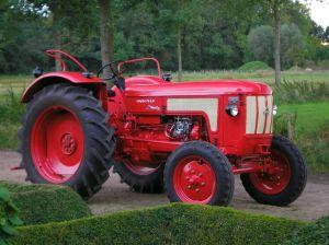 Hanomag Granit 500, bouwjaar 1964, 3 clinder, 40 pk.