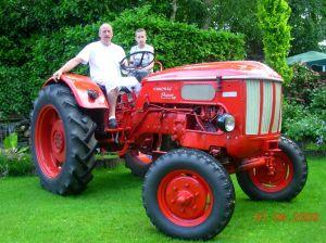 Hanomag Perfekt, bouwjaar 1963, 4 cilinder, vermogen 32 pk.