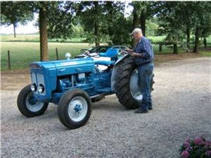 Fordson Super Dexta, bouwjaar 1961, 3 cilinder, 39 pk.