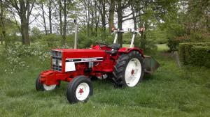 International 733, bouwjaar 1984, 4 clinder, 60 pk.